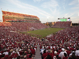 Oklahoma: Memorial Stadium Photographic Print by Brett Deering