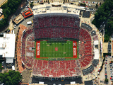 Carter-Finley Stadium from Above Fotografisk trykk av Lance King