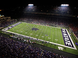 Kansas State: Game Night at Bill Snyder Family Stadium Fotografisk tryk af Jamie Squire