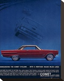 1964 Mercury - Comet Cyclone Stretched Canvas Print