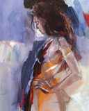 Odalisque IV Giclee Print by Christine Comyn