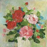 Summer Rose II Giclee Print by Parastoo Ganjei