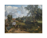 Flatford Mill (Scene on a Navigable River) Premium Giclee Print by John Constable