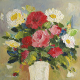 Rose Bouquet Giclee Print by Parastoo Ganjei