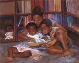 The Reading Giclee Print by Sharon Wilson