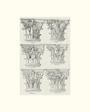 English Architectural VI Giclee Print by  The Vintage Collection