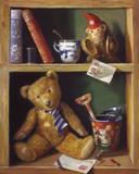 Ted et ses amis I Reproduction procédé giclée par Raymond Campbell