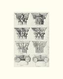 English Architectural V Giclee Print