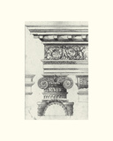 English Architectural I Giclee Print by  The Vintage Collection