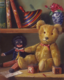 Ted and Friends I Giclee Print by Raymond Campbell