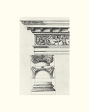 English Architectural IV Giclee Print by  The Vintage Collection