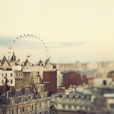 Eye on London Giclee Print by Irene Suchocki
