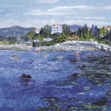 Le Petit Port a Antibes Giclee Print by Tania Forgione