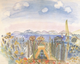 Baie des Anges, Nice Giclee Print by Raoul Dufy