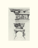 English Architectural III Giclee Print by  The Vintage Collection