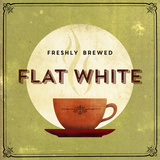 Finest Coffee - Flat White Giclee Print by  Hens Teeth