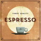 Finest Coffee - Espresso Giclee Print by  Hens Teeth