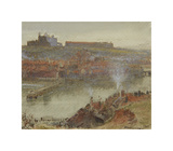 View of Whitby, 1905 Premium Giclee Print by Albert Goodwin
