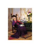 Napping Premium Giclee Print by Georges Croegaert