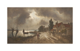 The Ferry Inn Premium Giclee Print by James Gozzard