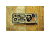 Five Dollar Bill Premium Giclee Print by Victor Dubreuil