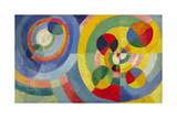 Circular Forms, 1930 Premium Giclee Print by Robert Delaunay