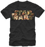 Star Wars- Floral Logo T-Shirt