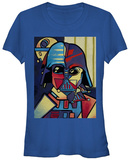 Juniors: Star Wars- Picasso Vader T-shirts