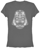 Juniors: Star Wars- Sugar Vader T-Shirt