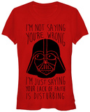 Juniors: Star Wars- That is Disturbing T-shirts