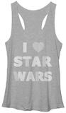 Juniors Tank Top: Star Wars- I Heart the Wars Tank Top