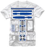 Star Wars- R2-D2 Costume Tee Skjorte