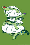 Turtles Prints by  Snorg