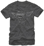 Star Wars- Yoda Outline T-Shirt