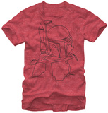 Star Wars- Boba Outline Shirt