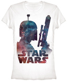 Women's: Star Wars- Fett Nebula Shirt