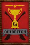 Quidditch Champions House Trophy Poster Print Billeder