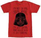 Star Wars- That is Disturbing T-shirts