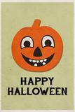 Happy Halloween Retro Photo