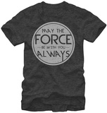 Star Wars- Force Quote Round Logo Shirt