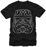 Star Wars- Etched Storm Trooper T-Shirt