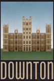 Downton Retro Travel Poster Posters