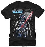 Star Wars- Vader 8-Bit T-shirts