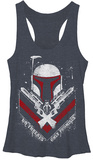 Juniors Tank Top: Star Wars- Only Promises Camiseta sin mangas