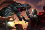 Dragonslayer Pósters por Tom Wood