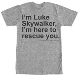 Star Wars- Here to Rescue You T-Shirt