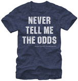 Star Wars- Never Tell Me the Odds T-shirts