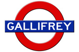 Gallifrey Subway Sign Travel Poster Posters