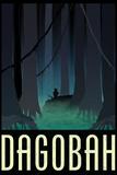 Dagobah Fantasy Travel Poster Plakát