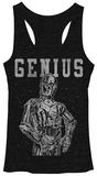 Juniors Tank Top: Star Wars- Nerdbot Tank Top